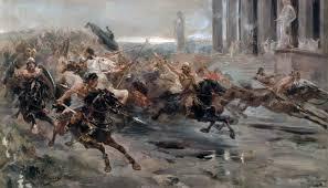 Unni all'attacco, guerra, morte, devastazione